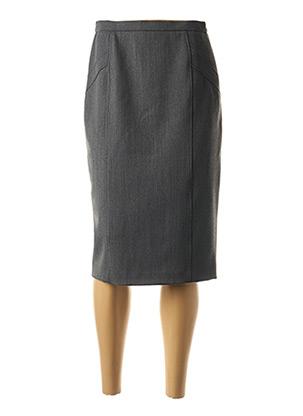 Jupe mi-longue gris WEINBERG pour femme