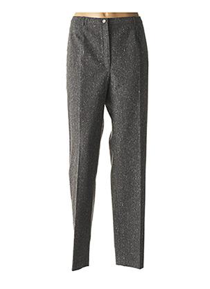 Pantalon casual gris WEINBERG pour femme