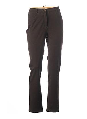 Pantalon casual marron WEINBERG pour femme
