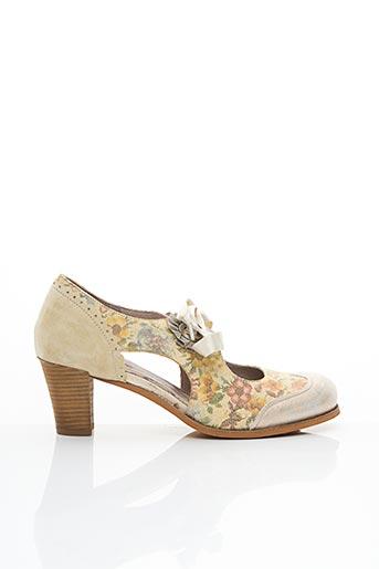 Bottines/Boots beige DKODE pour femme