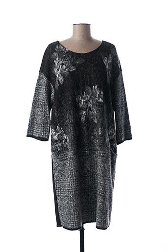 Robe pull noir FRED SABATIER pour femme