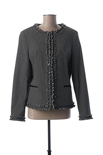 Veste casual noir CRISTINA BARROS pour femme