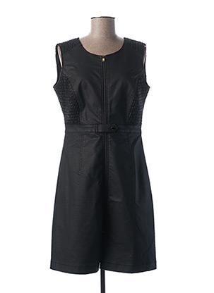 Robe mi-longue noir FUEGO WOMAN pour femme