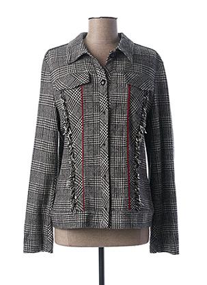 Veste casual gris FUEGO WOMAN pour femme