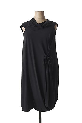 Robe mi-longue noir ELEMENTE CLEMENTE pour femme