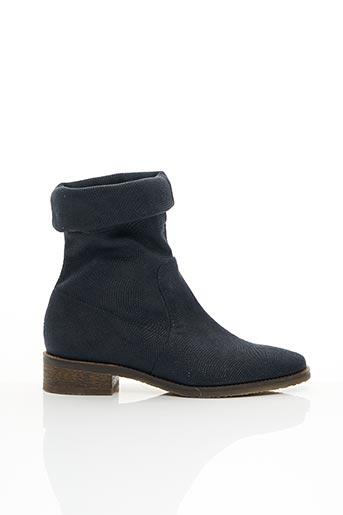 Bottines/Boots bleu FRANCE MODE pour femme