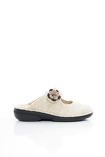 Chaussons/Pantoufles beige GIESSWEIN pour femme