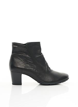 Bottines/Boots noir MEPHISTO pour femme
