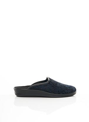 Chaussons/Pantoufles bleu RHONE POULENC pour homme