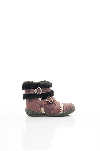 Bottines/Boots violet BELLAMY pour fille