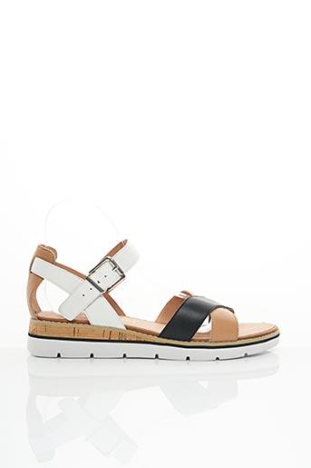 Sandales/Nu pieds noir KARSTON pour femme