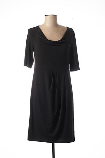 Robe mi-longue noir EVALINKA pour femme