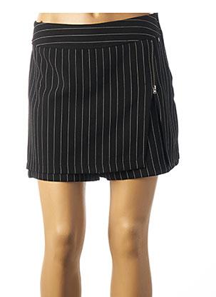 Jupe short noir MADO ET LES AUTRES pour femme