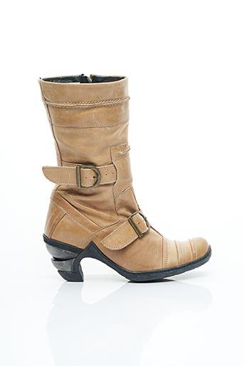 Bottines/Boots beige EJECT pour femme