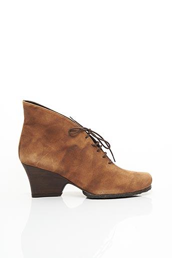 Bottines/Boots marron AUDLEY pour femme