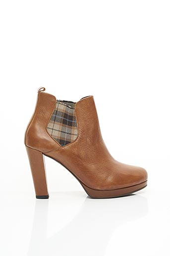 Bottines/Boots marron FEE NO MEN pour femme
