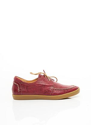 Chaussures bâteau rouge THINK! pour femme