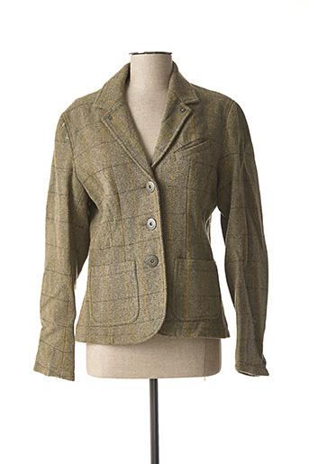 Veste chic / Blazer vert BOMBOOGIE pour femme