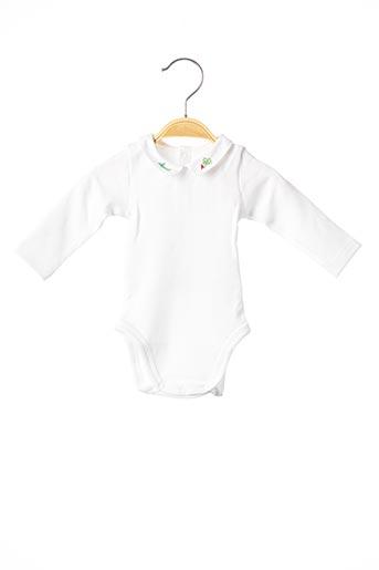 Body blanc CYRILLUS pour enfant