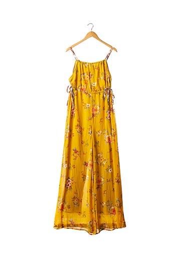 Combi-pantalon jaune FREE PEOPLE pour femme