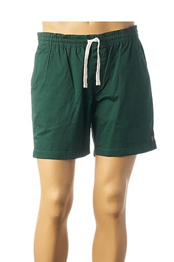 Short vert FARAH pour homme