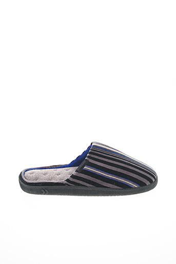 Chaussons/Pantoufles noir ISOTONER pour femme