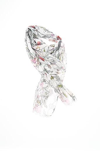 Foulard blanc CODELLO pour femme