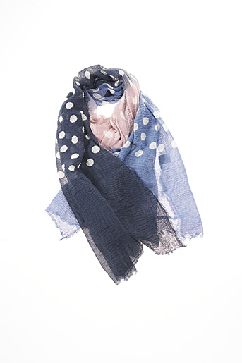 Foulard bleu CODELLO pour femme
