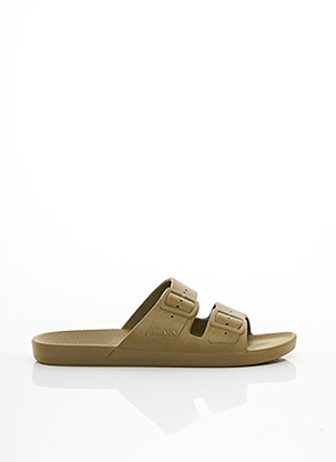 Mules/Sabots vert FREEDOM MOSES pour homme