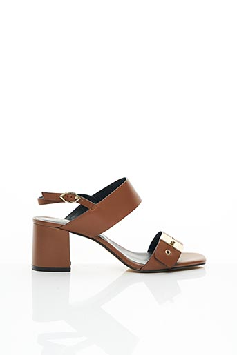 Sandales/Nu pieds marron BRUNO PREMI pour femme