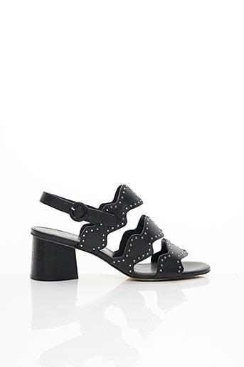 Sandales/Nu pieds noir BRUNO PREMI pour femme