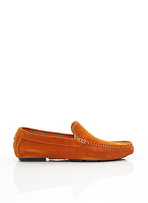 Chaussures bâteau orange MARVIN&CO pour homme