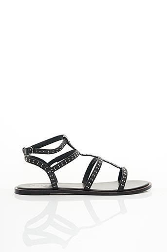 Sandales/Nu pieds noir DUNE LONDON pour femme