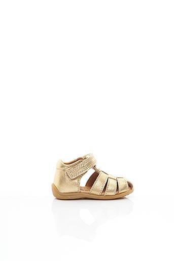Sandales/Nu pieds jaune BISGAARD pour fille