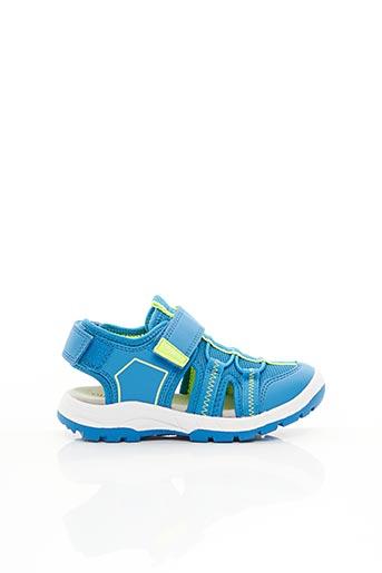 Sandales/Nu pieds bleu SUPER FIT pour garçon