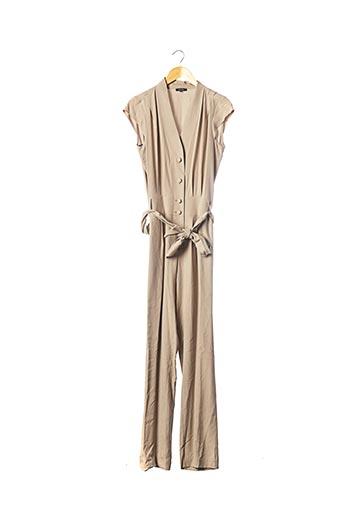 Combi-pantalon beige TEENFLO pour femme
