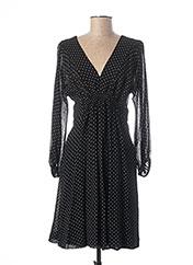 Robe mi-longue noir TEENFLO pour femme seconde vue