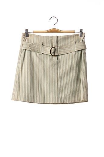 Jupon /Fond de robe vert TEENFLO pour femme