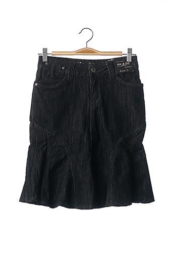 Jupe courte noir ONADO pour femme