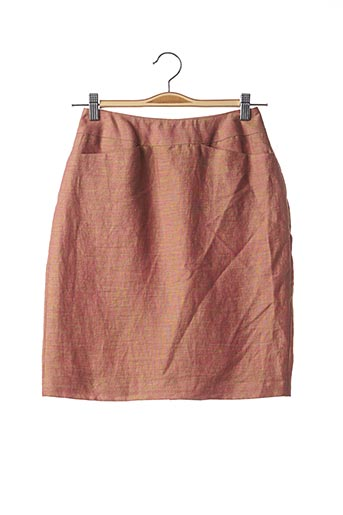 Jupe courte orange TEENFLO pour femme