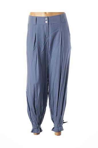 Pantalon casual bleu TEENFLO pour femme