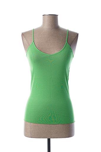 Top vert STEFAN GREEN pour femme