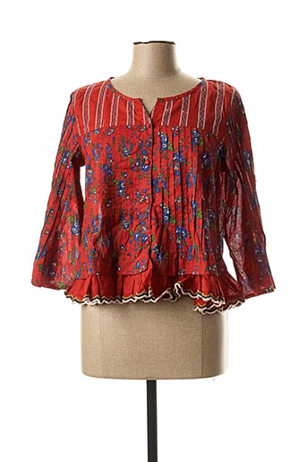 Veste casual rouge RHUM RAISIN pour femme
