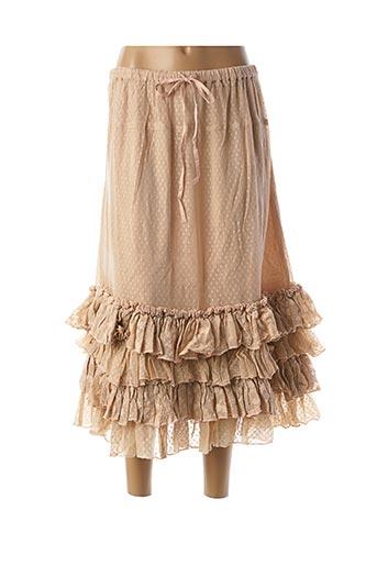 Jupe longue beige RHUM RAISIN pour femme