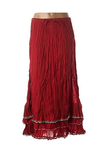 Jupe longue rouge RHUM RAISIN pour femme