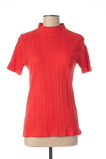 Top orange BLANCHEPORTE pour femme
