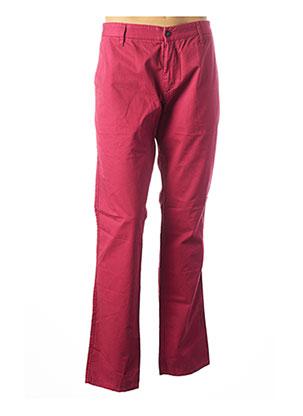 Pantalon casual rose ARMANI pour homme