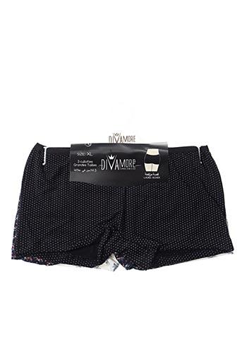 Slip/Culotte noir DIVAMORE pour femme