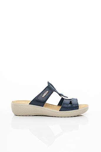 Chaussures de confort bleu FLY FLOT pour femme
