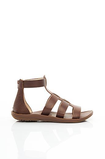 Sandales/Nu pieds marron FREE WATERS pour femme